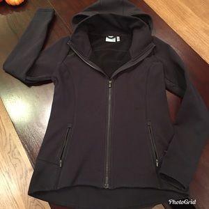 Athleta Hooded Zip Jacket